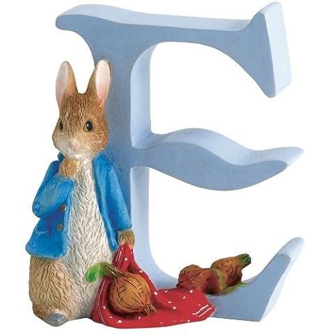 Beatrix Potter Alphabet Letter E Peter Rabbit with Onions Figurine