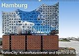 Hamburg. HafenCity, Kontorhausviertel und Speicherstadt. (Wandkalender 2019 DIN A2 quer): Rund um die Elbphilharmonie in der HafenCity, Speicherstadt ... (Monatskalender, 14 Seiten ) (CALVENDO Orte)