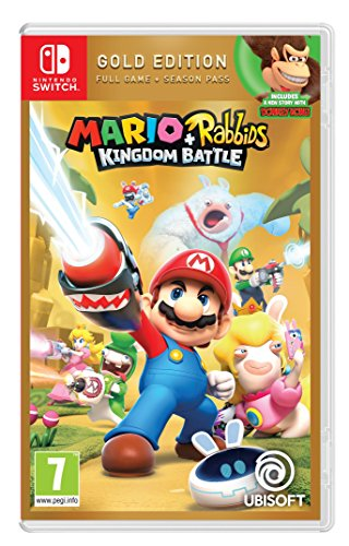 Mario & Rabbids Kingdom Battle (PEGI) - Gold  Edition - [Nintendo Switch]