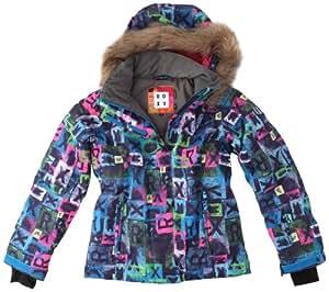 roxy jet ski girl jk wptsj124 veste de snow fille aib. Black Bedroom Furniture Sets. Home Design Ideas