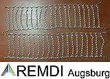 Remdi Augsburg Schneeketten 23x6.50-12 (23x6.50-12) Profi Ausführung Gliederstärke 4,5mm
