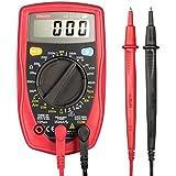 ETEKCITY 679113380394, Etekcity MSR-R500 Pocket Digital Multimeter, Volt Amp Ohm Multi Tester with Diode and Continuity Test,AC/DC Voltage, DC Current, Resistance Tester,Red (DIY & Tools)