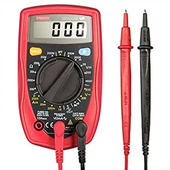 etekcity msr r500 digital multimeter zum messen von gleichstrom gleich und wechselspannung. Black Bedroom Furniture Sets. Home Design Ideas