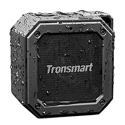 Waterproof Bluetooth Speaker, Tronsmart Groove(Force Mini) Wireless Outdoor Mini 10W Bluetooth Speakers, Bluetooth 4.2, IPX7 Waterproof, 24 Hours Playtime, built in mic and 360° TWS Stereo Sound from Tronsmart