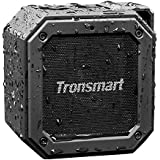 Tronsmart Altavoz Exterior Bluetooth Portátiles, 24 Horas de Reproducción, Impermeable IPX7, Extra Bass con Tecnología TWS, Construido en Micrófono, para Smartphones, Tablets, Fiesta, Viajes, Playa