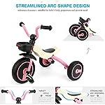 Fascol-GOSFUN-Triciclo-Passeggino-Pieghevole-Trike-per-Bambini-tra-2-5-Anni