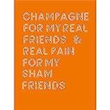 Champagne Friends Sham Pain Wall Art Print Wand