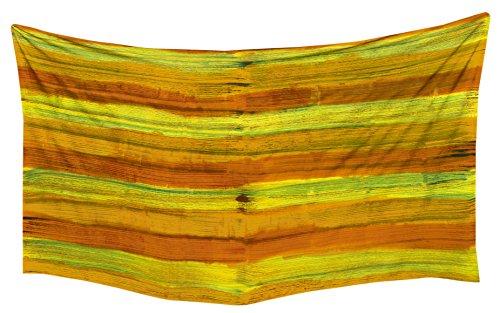La Leela Strandbadebekleidung Zu Glatt skrirt Sarong Rayon Bikini wickelt Grün (Lange Rayon Tie Dye Wrap)