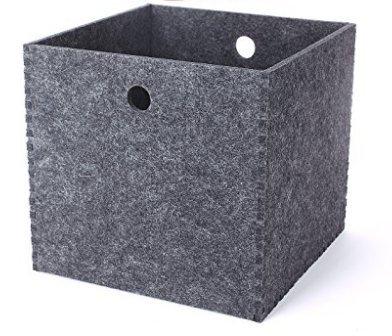 Storage Baskets Bins, Shelf Basket Closet Wardrobe Organiser for Home
