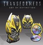 """Transformers 4 : L'âge de l'extinction - Édition Collector Limité """"Bumblebee"""" [Combo Blu-ray 3D + Blu-ray + Bonus]. Contenu additionnel Blu-ray bonus (HD) : """"Bay en action"""" (10'45"""" - VOST) """"L'évolution dans l'extinction"""" : making of en 8 parties (122..."""