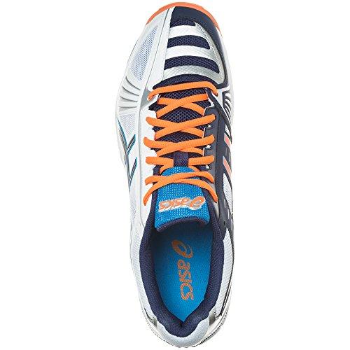 Asics GEL-VOLLEY ELITE 2 Volleyballschuhe Herren white/navy/diva blue