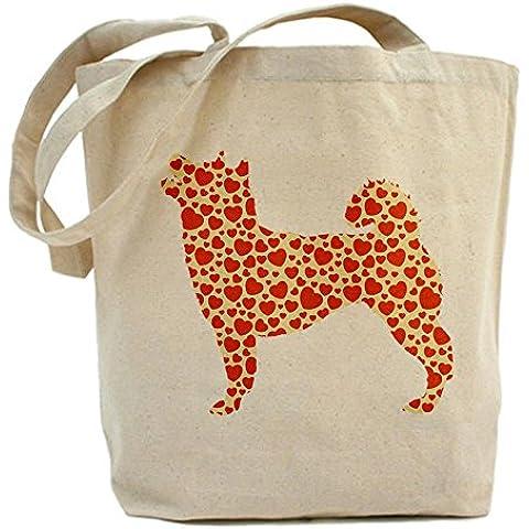 CafePress–Shiba Inu Tote Bag–Borsa di tela naturale, panno borsa per la spesa