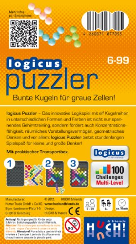 Huch-Friends-77055-Logicus-Logicus-Puzzler