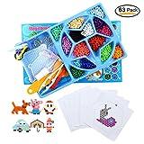 FOONEE Magic Wasser Sticky Perlen Wasser Sicherung Perlen Wasser Spray Perlen 15Farben 1350Perlen Set Art Crafts Spielzeug für Anfänger Komplett-Set