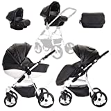 Friedrich Hugo | Modell Easy One | 3 in 1 Kombikinderwagen | Kinderwagen, Buggy, Autositz Eco Universe & Join