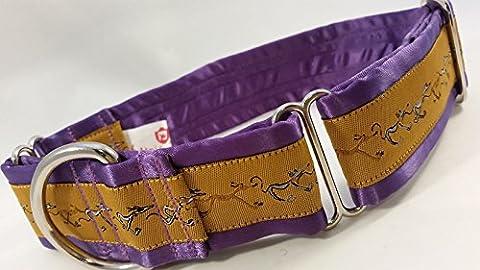 Handcrafted Luxury Greyhound Lurcher Collars & Dog House Collars, Matching