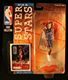 1998 - Mattel - NBA Court Collection - NBA Super Stars Series - Charles Barkely #4 - Houston Rockets - Vintage Action Figure - W/ Upper Deck Trading Card - Limited Edition - Collectible