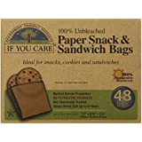 If You Care Sandwich Bags x48