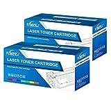 Fimpex Compatible Toner Cartouche Remplacement Pour Brother DCP-7010L DCP-7020 DCP-7025 Fax-2820 HL-2030 HL-2040 HL-2050 HL-2070 HL-2070N HL-2500 MFC-7225N MFC-7420 MFC-7820N TN2000 (Noir, 2-Pack)