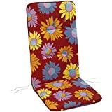 Best para sillón alto, multicolor, 120x 50x 6cm, 5201780