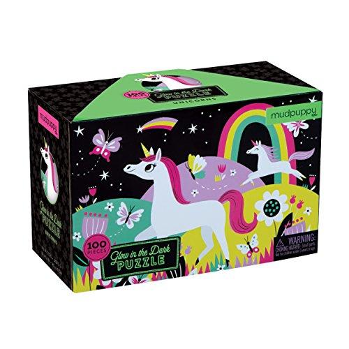 Preisvergleich Produktbild Unicorns Glow-In-The-Dark Puzzle
