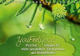 YouFeelGood - Positive Impulse für mehr Gesundheit, Entspannung und Wohlbefinden (Tischkalender 2018 DIN A5 quer): Positive und aufbauende Impulse für ... [Apr 01, 2017] Shayana Hoffmann, Gaby