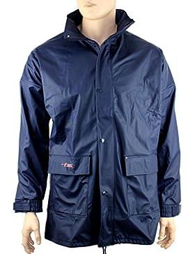 Norway PU chaqueta de lluvia con capucha–Varios colores