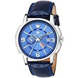 #10: Eddy Hager Blue Day and Date Men's Watch EH-114-BL