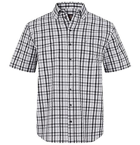 JAN VANDERSTORM Herren Kurzarmhemd INGRABAN in Übergröße Große Größen Plus Size Big Size XL XXL XXXL 4XL 5XL 6XL 7XL 8XL 9XL