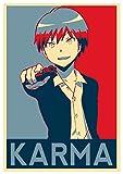 Instabuy Poster Assassination Classroom Propaganda Karma - A3 (42x30 cm)