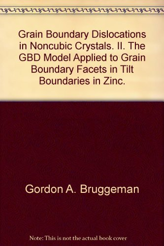 Grain Boundary Dislocations in Noncubic Crystals. II. The GBD Model Applied to Grain Boundary Facets in Tilt Boundaries in Zinc.