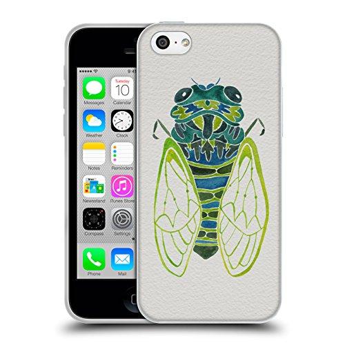 Ufficiale Cat Coquillette Nero oro Scorpione Insetti Cover Morbida In Gel Per Apple iPhone 6 Plus / 6s Plus Cicala blu