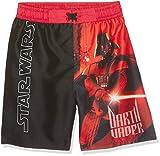 Star Wars-The Clone Wars Darth Vader Jedi Yoda Garçon Maillot de bain – noir