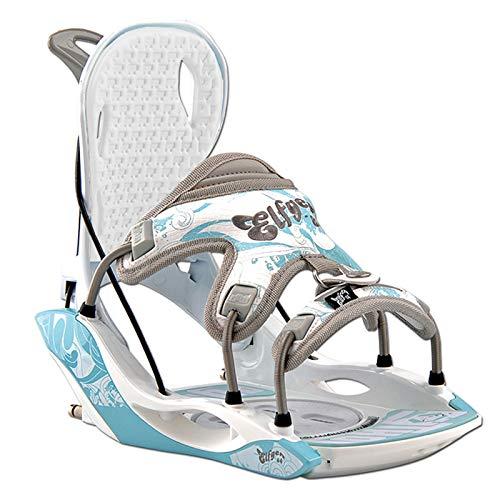 Damen Snowboard Softboot Step-IN BINDUNG - ELFGEN Python Premium Blue GR. S