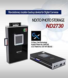 "Nexto ND2730 Mobiler Foto Speicher 1.44"" LCD 640GB"