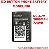 Pcs System JIO 4g Button Phone Battery Compatible Battery Suitable For Jio F90B Button Type Mobile(Only BatteryOnly) Suitable For Jio F90B Button Type Mobile