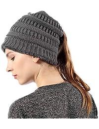 FLY HAWK Cappello Sciarpa Anello in Maglia Invernali da Donna - Berretto  Beanie Sciarpa Loop Knit in Peluche Caldo per Bambina Cappello… c78ef633872c