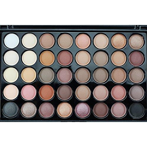 Segolike New 40 Colors Matte Shimmer Smoky Eye Shadow Makeup...