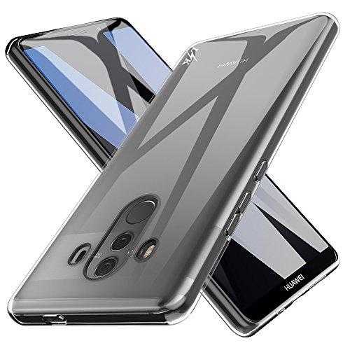 LK Huawei Mate 10 Pro Hülle, Ultra Schlank Dünn TPU Gel Gummi Weiche Haut Silikon Schutzhülle Abdeckung Case Cover für Huawei Mate 10 Pro (Transparent)