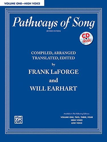 Pathways of Song, Vol 1: High Voice, Book & CD (Pathways of Song Series) by Frank LaForge (2006-06-01)