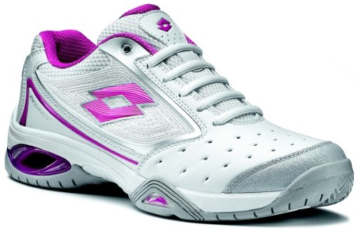LOTTO PRIMACY II, Damen Sportschuhe - Tennis WHT05/SUPER PNK