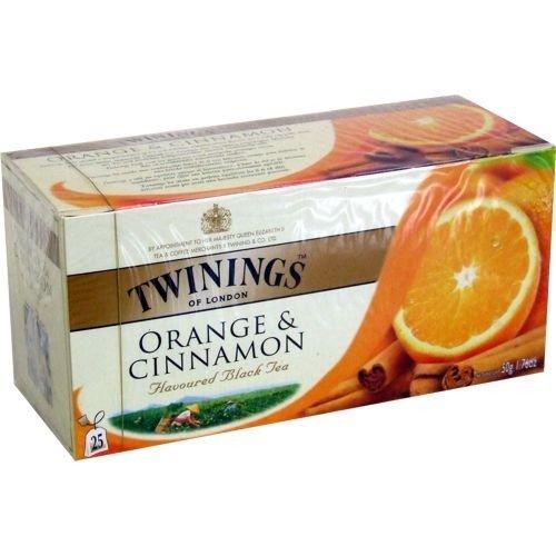 Twinings of London Orange & Cinnamon 25 Teebeutel
