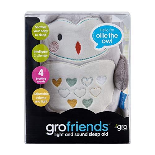 Gro Licht und Sound, Ollie the Owl grofriend, grau - und, Sound, Owl, Ollie, Licht, grofriend, Gro, grau, einschlafhilfen