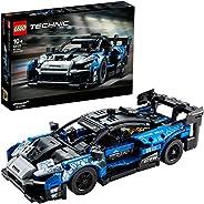 LEGO 42123 Technic McLaren Senna GTR Racing Sports Car Collectible Model, Vehicle Construction Set