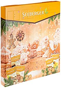 Exklusiver Seeberger Adventskalender mit leckeren und gesunden Snacks, 1er Pack (1 x 730 g)