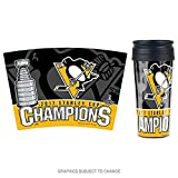 WinCraft NHL PITTSBURGH PENGUINS Stanley Cup 2017 Champions Thermobecher