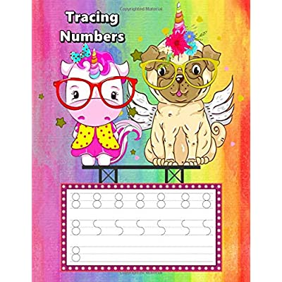 Tracing Numbers: Number Tracing Books For Toddler, Number Tracing Workbook (Number With Pictures For Children Education)