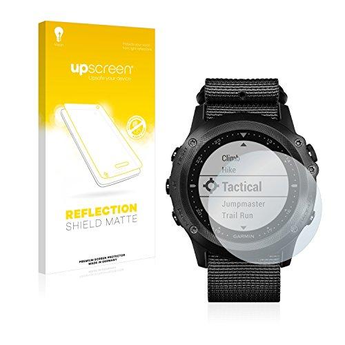 upscreen Matt Schutzfolie für Garmin Tactix Bravo - Entspiegelt, Anti-Reflex, Anti-Fingerprint