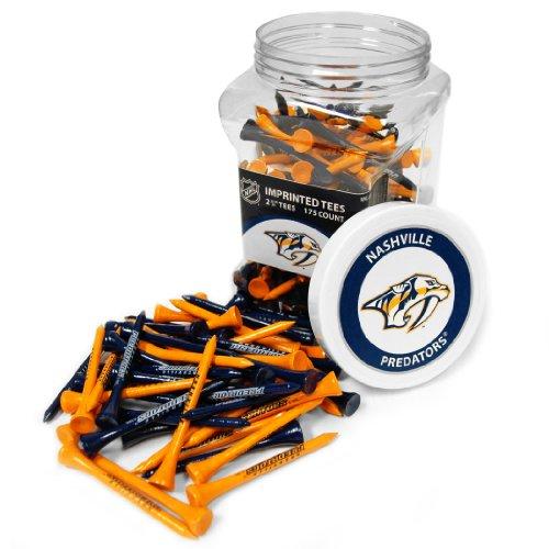 Team Golf NHL 175Tee Jar, Herren Unisex Damen, 14551, Mehrfarbig, Einheitsgröße