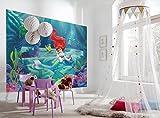 Komar Papier Peint Mural «Disney La Petite Sirène Ariel», Multicolore, 4pièces